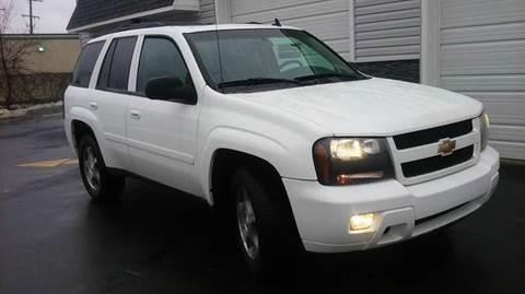 2008 Chevrolet TrailBlazer for sale in Lapeer, MI