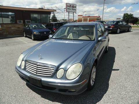 2005 Mercedes-Benz E-Class for sale in York, PA