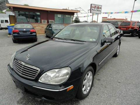 2000 Mercedes-Benz S-Class for sale in York, PA