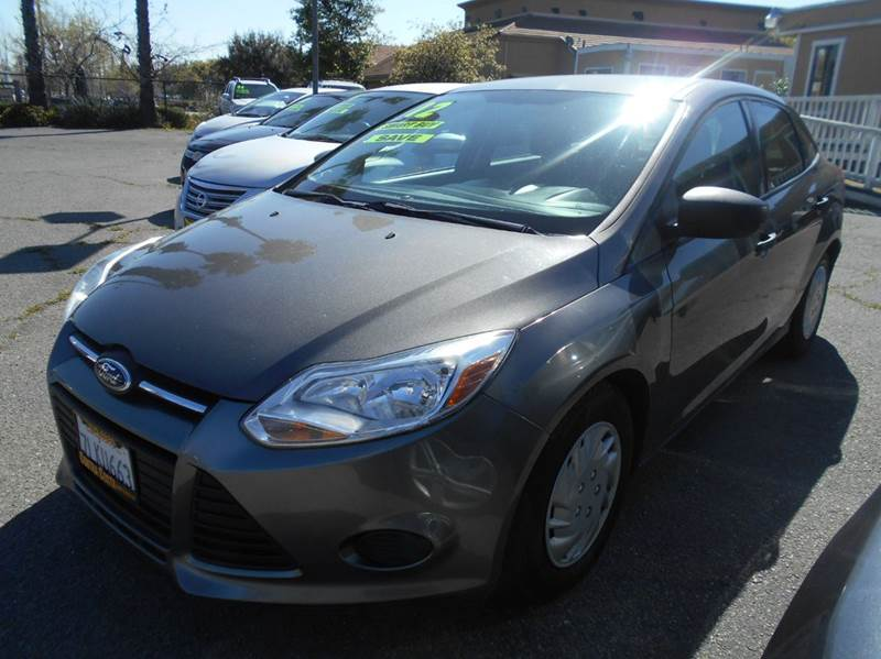 2012 FORD FOCUS S 4DR SEDAN charcoal abs - 4-wheel air filtration airbag deactivation - occupan