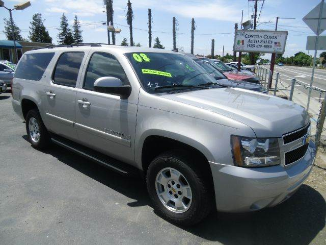 2008 CHEVROLET SUBURBAN LT 1500 4X2 SUV silver 2-stage unlocking - remote abs - 4-wheel airbag