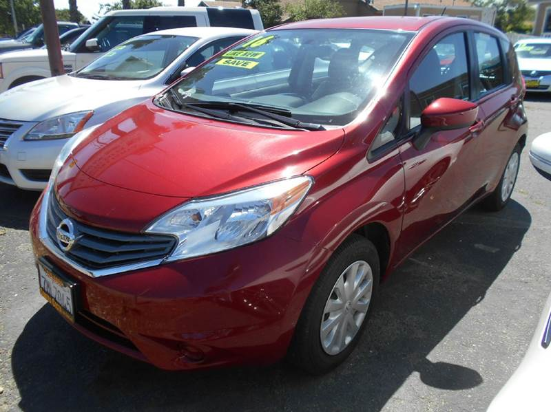 2016 NISSAN VERSA NOTE S 4DR HATCHBACK red abs - 4-wheel airbag deactivation - occupant sensing