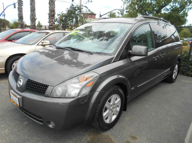 2006 NISSAN QUEST 35 SL 4DR MINI VAN charcoal abs - 4-wheel active head restraints - dual front