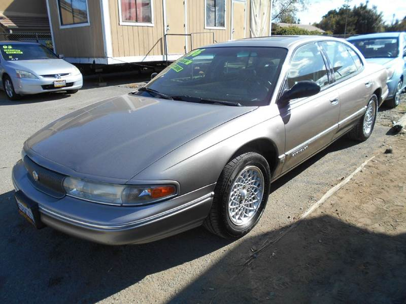 1996 CHRYSLER LHS BASE 4DR SEDAN silver abs - 4-wheel antenna type - power anti-theft system -