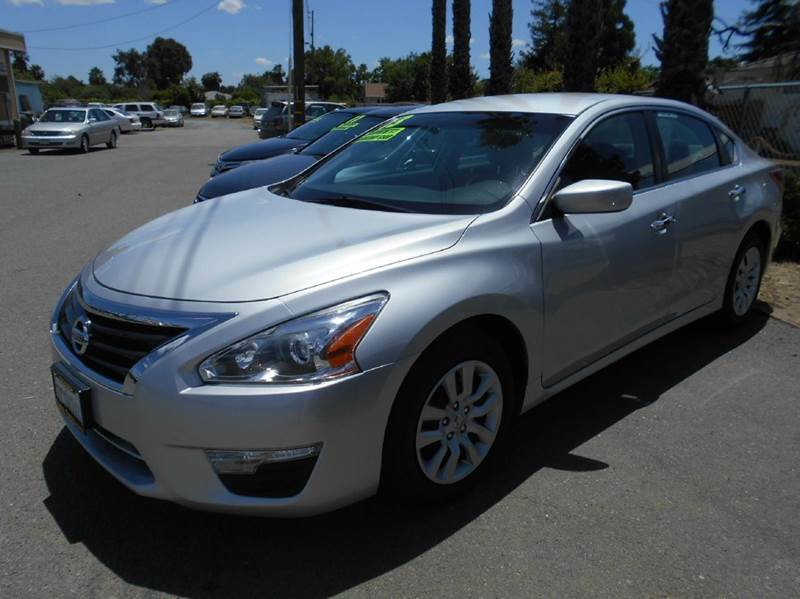 2013 NISSAN ALTIMA 25 S 4DR SEDAN silver 2-stage unlocking doors abs - 4-wheel active head res