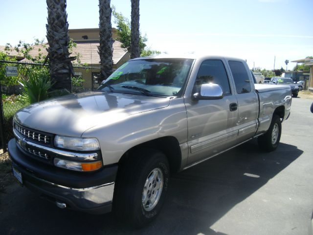 2000 CHEVROLET SILVERADO 1500 LS 3DR 4WD EXTENDED CAB SB silver abs - 4-wheel anti-theft system