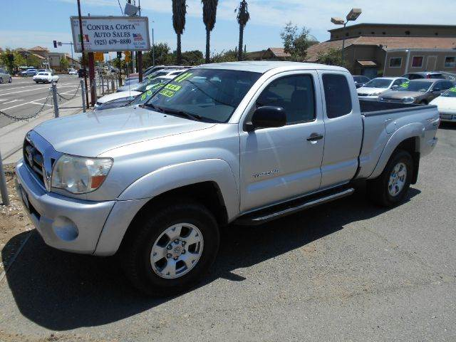 2007 TOYOTA TACOMA V6 4DR ACCESS CAB 4WD 61 FT SB silver 4wd type - part time abs - 4-wheel a