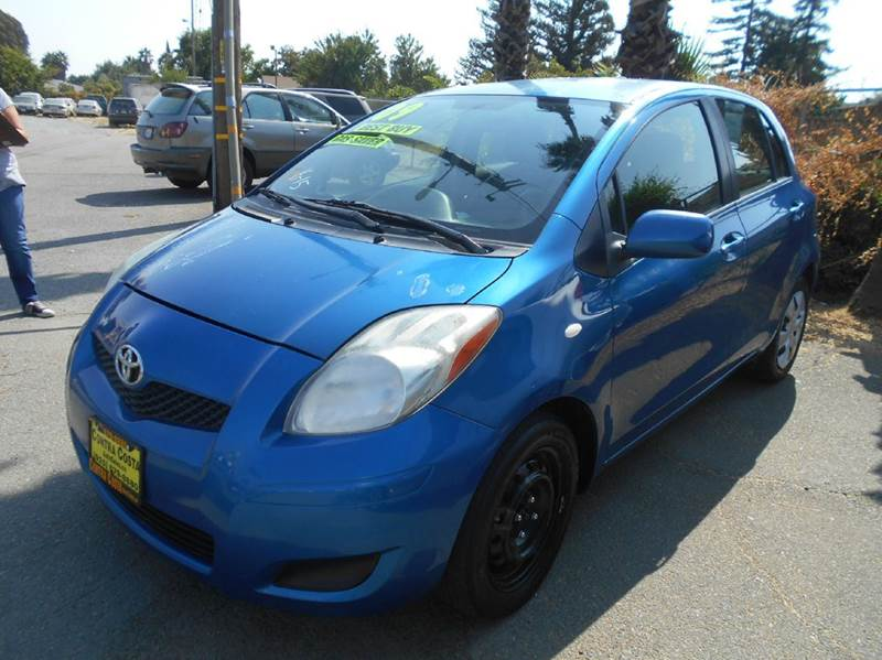 2009 TOYOTA YARIS S 4DR HATCHBACK 4A blue abs - 4-wheel antenna type - mast auxiliary audio inp