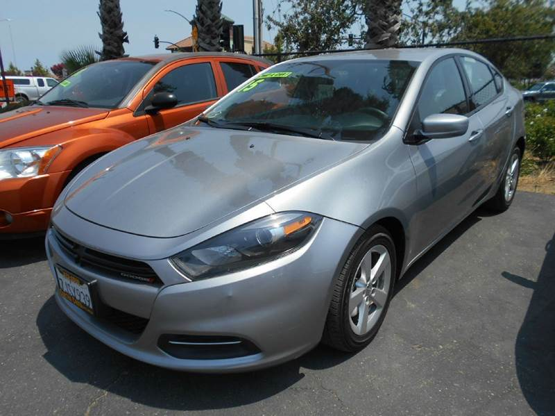 2015 DODGE DART SXT 4DR SEDAN silver 2-stage unlocking doors abs - 4-wheel active head restrain