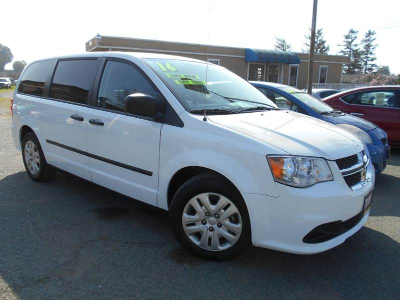 2016 DODGE GRAND CARAVAN SE 4DR MINI VAN white 2-stage unlocking doors abs - 4-wheel active head