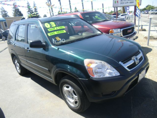2003 HONDA CR-V LX 4DR SUV green cassette clock cruise control exterior entry lights exterior