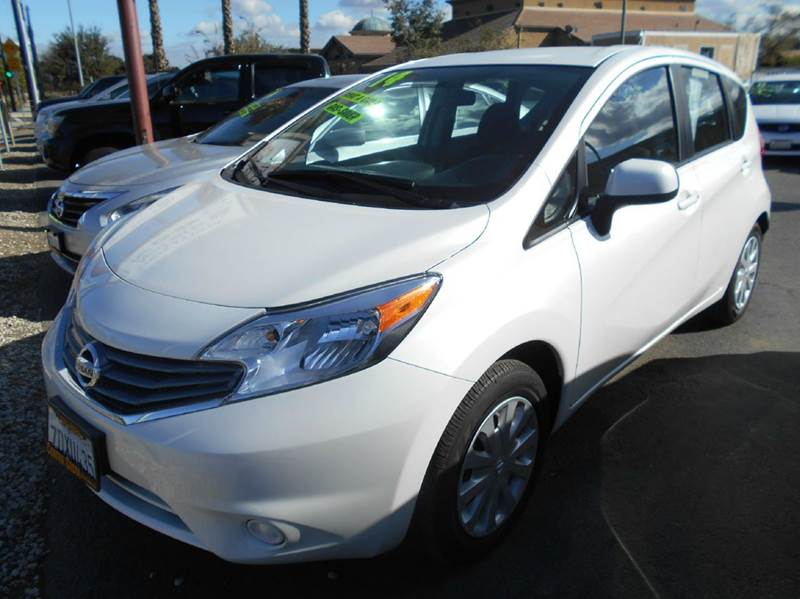2014 NISSAN VERSA NOTE S 4DR HATCHBACK white abs - 4-wheel airbag deactivation - occupant sensin