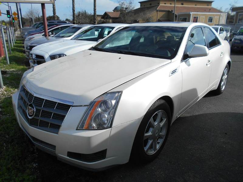2008 CADILLAC CTS 36L DI 4DR SEDAN WHIGH FEATURE white 2-stage unlocking doors abs - 4-wheel