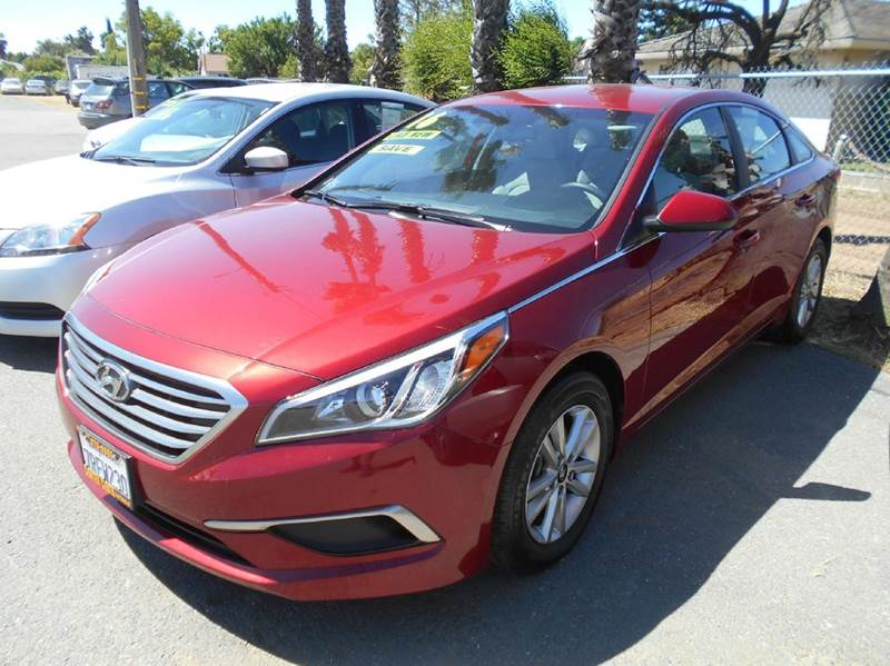2016 HYUNDAI SONATA SE 4DR SEDAN red 2-stage unlocking doors abs - 4-wheel air filtration airba