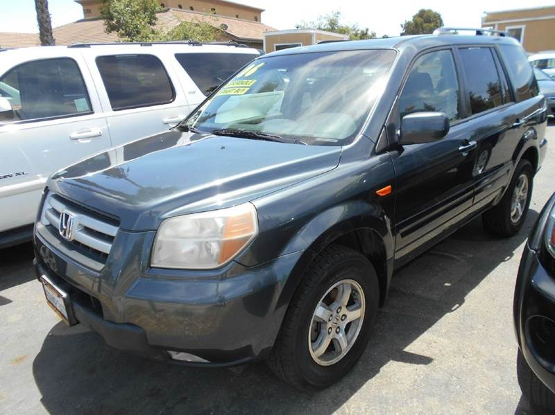 2006 HONDA PILOT EX-L 4DR SUV blue abs - 4-wheel air filtration airbag deactivation - occupant