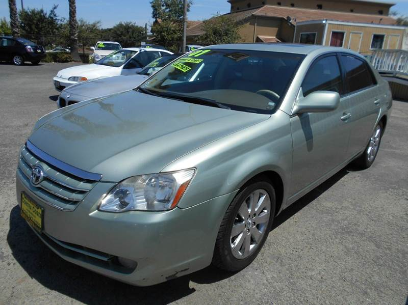 2007 TOYOTA AVALON XLS 4DR SEDAN green dvd system 2-stage unlocking - remote abs - 4-wheel air
