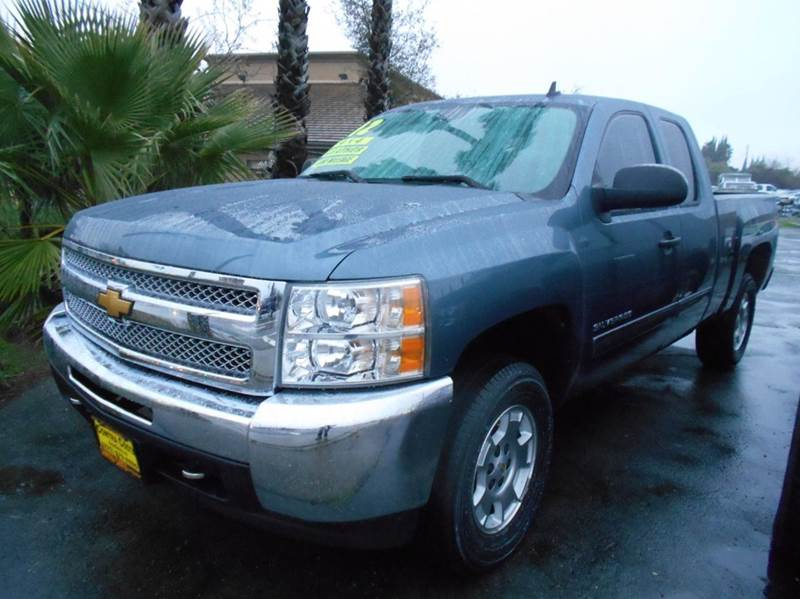 2012 CHEVROLET SILVERADO 1500 LT 4X2 2DR REGULAR CAB 65 FT S blue abs - 4-wheel alternator - 1