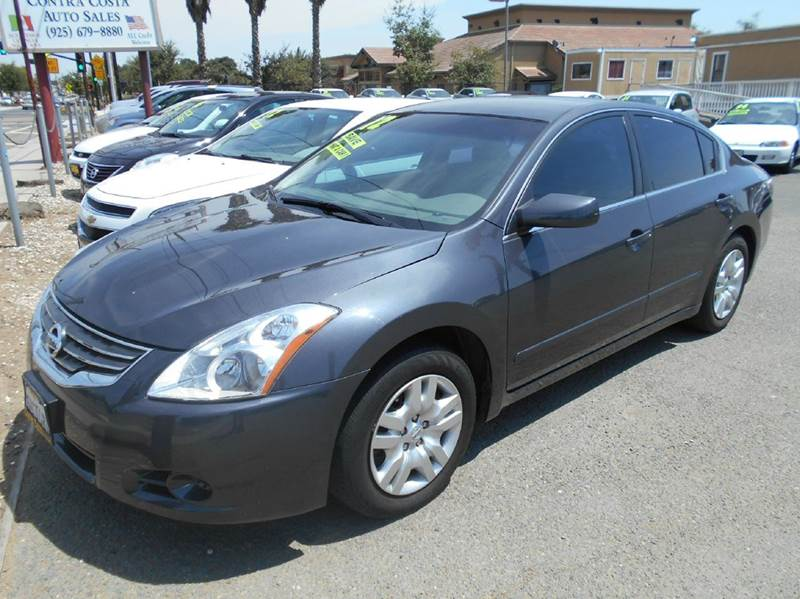 2012 NISSAN ALTIMA 25 S 4DR SEDAN charcoal 2-stage unlocking - remote abs - 4-wheel air filtra