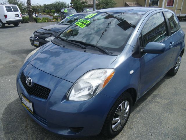 2007 TOYOTA YARIS 2DR HATCHBACK 15L I4 4A blue antenna type - mast center console - front cons