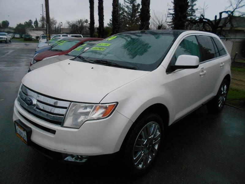 2010 FORD EDGE LIMITED AWD 4DR CROSSOVER white 2-stage unlocking doors 4wd type - on demand abs