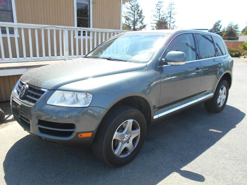 2004 VOLKSWAGEN TOUAREG V6 AWD 4DR SUV green abs - 4-wheel anti-theft system - alarm center con