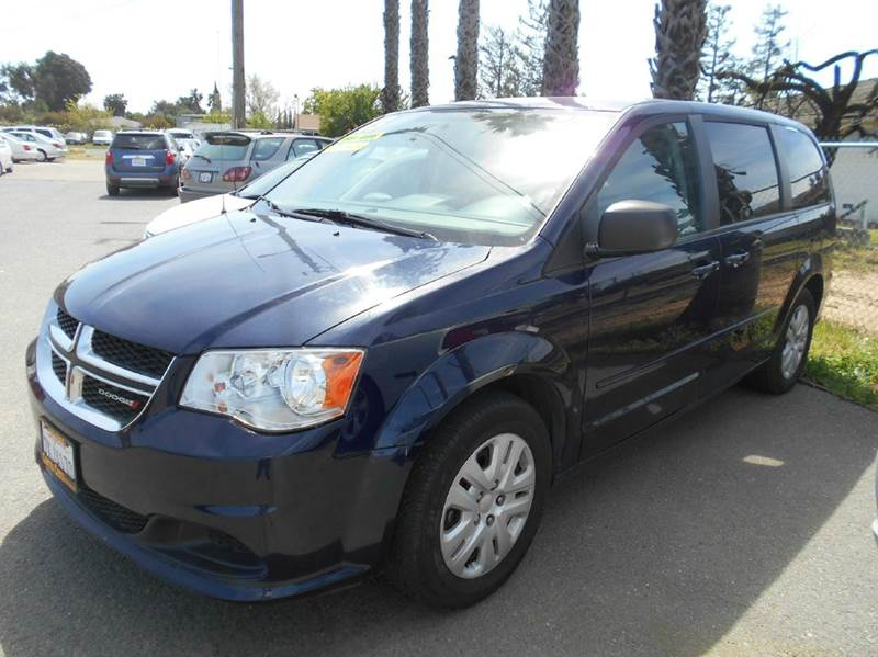 2015 DODGE GRAND CARAVAN SE 4DR MINI VAN blue 2-stage unlocking doors abs - 4-wheel active head