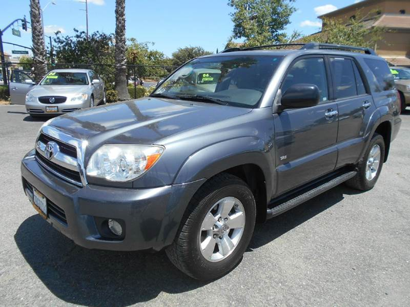 2008 TOYOTA 4RUNNER SR5 4X2 4DR SUV 47L V8 charcoal abs - 4-wheel active head restraints - du