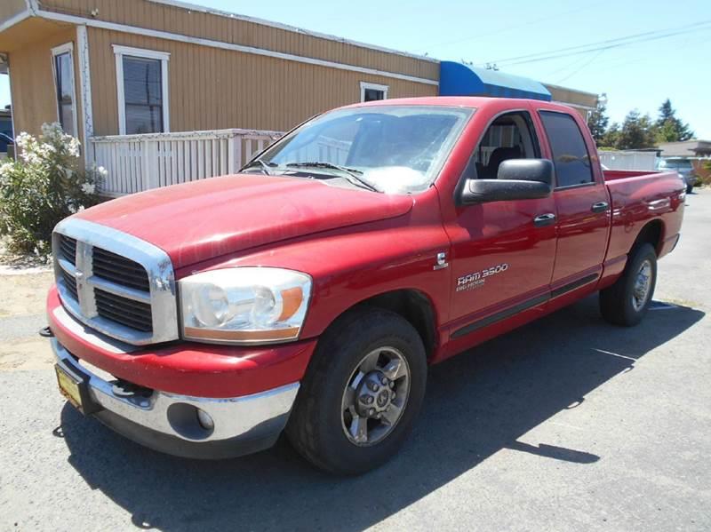 2006 DODGE RAM PICKUP 3500 SLT 4DR QUAD CAB SB red abs - 4-wheel airbag deactivation - occupant