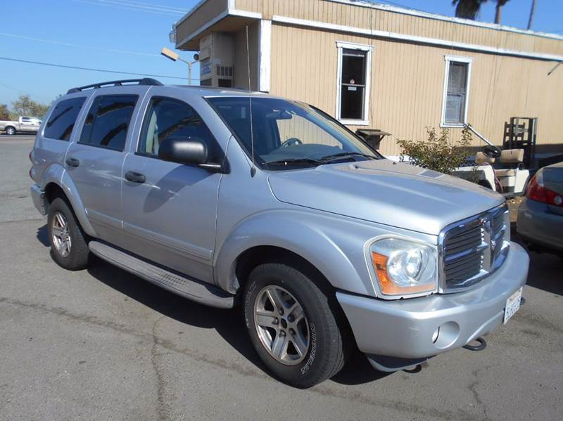 2004 DODGE DURANGO SLT 4WD 4DR SUV silver 4wd type - full time abs - 4-wheel axle ratio - 355