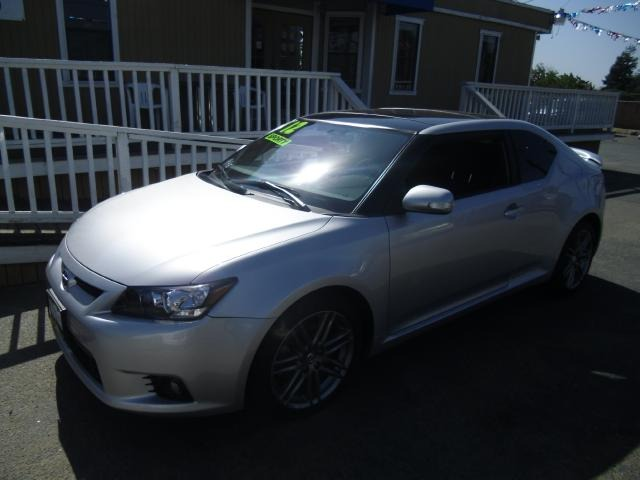 2012 SCION TC SPORTS COUPE 6-SPD AT silver contra costa auto sales the best of the bay area we ca
