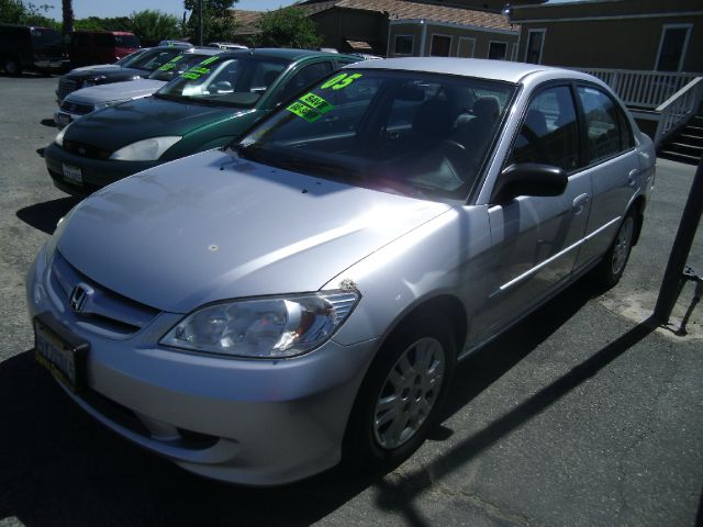 2005 HONDA CIVIC LX 4DR SEDAN silver cd changer center console cruise control exterior mirrors