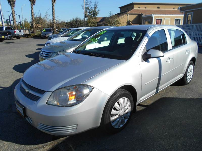 2010 CHEVROLET COBALT LT 4DR SEDAN silver air filtration airbag deactivation - occupant sensing