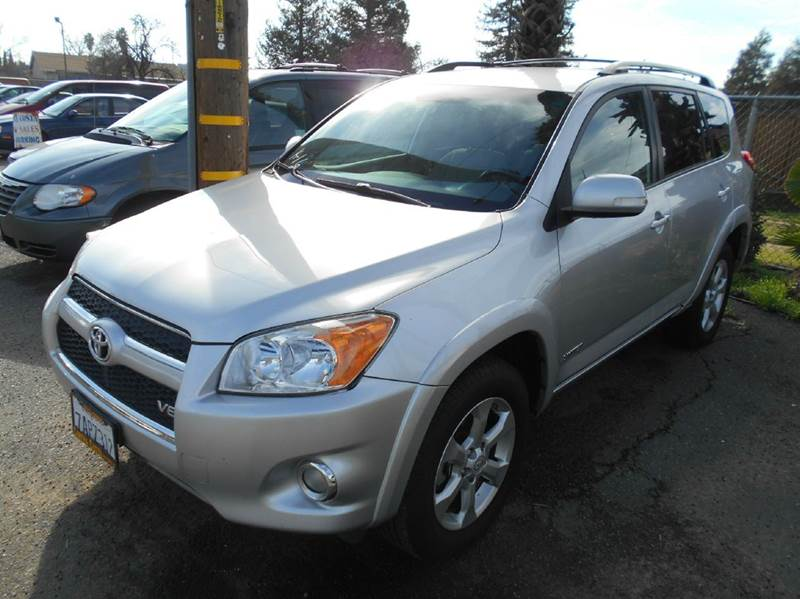 2009 TOYOTA RAV4 LIMITED 4DR SUV V6 silver 2-stage unlocking doors abs - 4-wheel active head re
