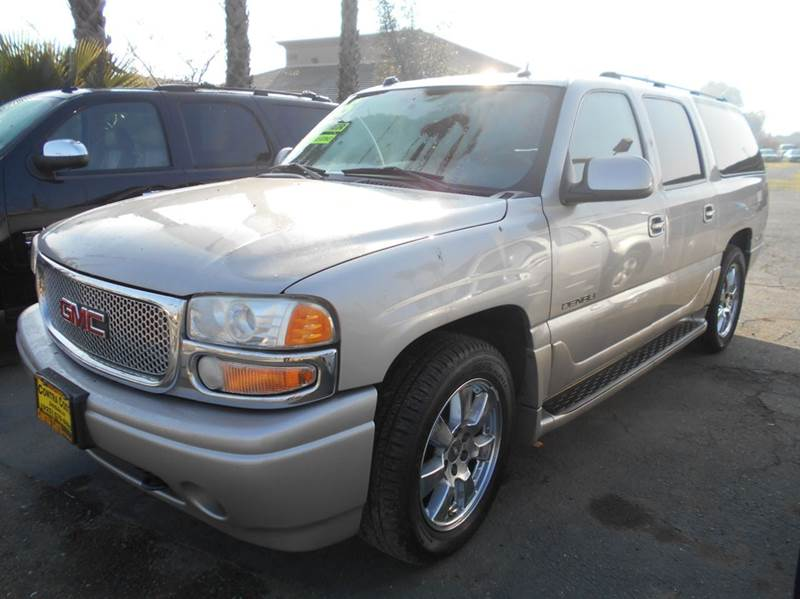 2005 GMC YUKON XL DENALI AWD 4DR SUV silver 4wd type - full time abs - 4-wheel active suspensio
