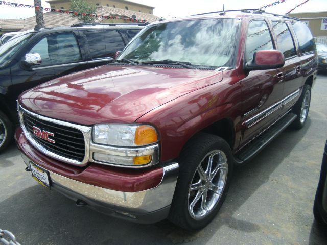 2003 GMC YUKON XL 1500 SLT 4WD 4DR SUV red abs - 4-wheel anti-theft system - alarm axle ratio -