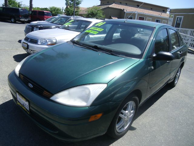 2001 FORD FOCUS SE 4DR SEDAN green anti-theft system - alarm center console clock exterior mir
