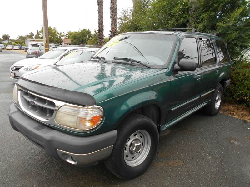 2000 FORD EXPLORER XLT 4DR 4WD SUV green abs - 4-wheel anti-theft system - alarm axle ratio - 3