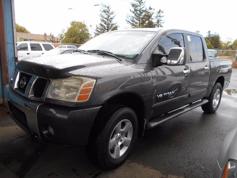2006 NISSAN TITAN SE 4DR CREW CAB 4WD SB charcoal 4wd selector - electronic 4wd type - part time