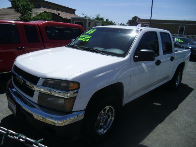 2005 CHEVROLET COLORADO Z85 LS 4DR CREW CAB RWD SB white abs - 4-wheel axle ratio - 342 bumper