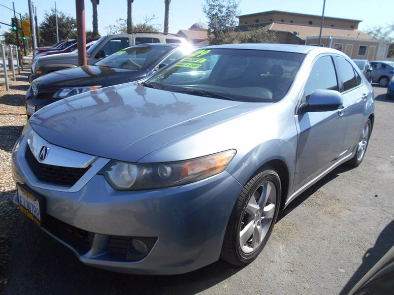 2009 ACURA TSX BASE 4DR SEDAN 5A gray 2-stage unlocking doors abs - 4-wheel air filtration airb