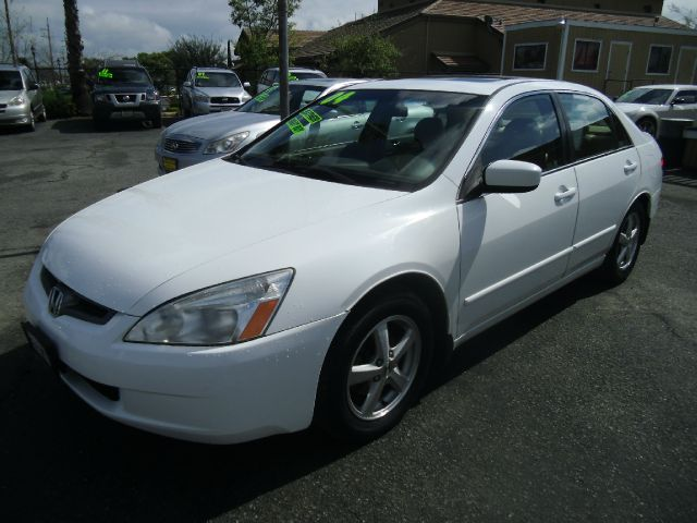 2004 HONDA ACCORD EX WLEATHER 4DR SEDAN 24L 4CY white abs - 4-wheel anti-theft system - alarm