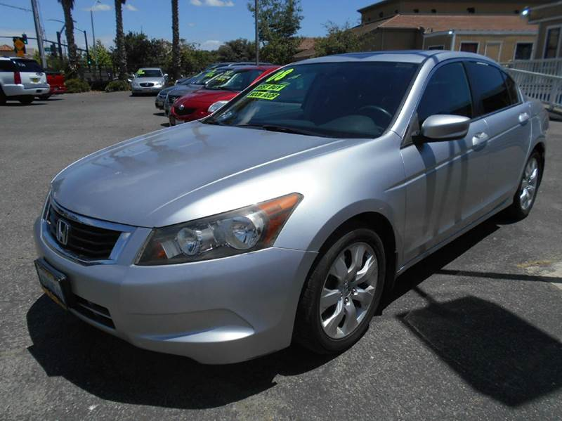 2008 HONDA ACCORD EX 4DR SEDAN 5A silver abs - 4-wheel active head restraints - dual front air