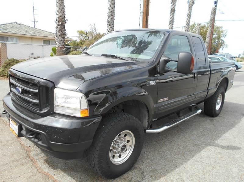 2003 FORD F-250 SUPER DUTY LARIAT 4DR SUPERCAB 4WD SB black abs - 4-wheel anti-theft system - al