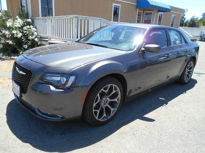 2016 CHRYSLER 300 S 4DR SEDAN charcoal 2-stage unlocking doors abs - 4-wheel active head restrai