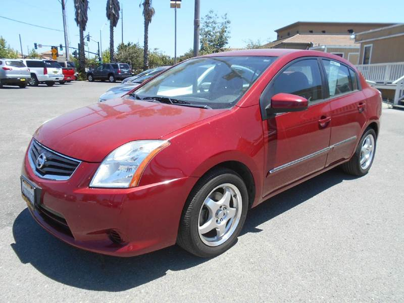 2011 NISSAN SENTRA 20 S 4DR SEDAN red 2-stage unlocking doors abs - 4-wheel active head restra