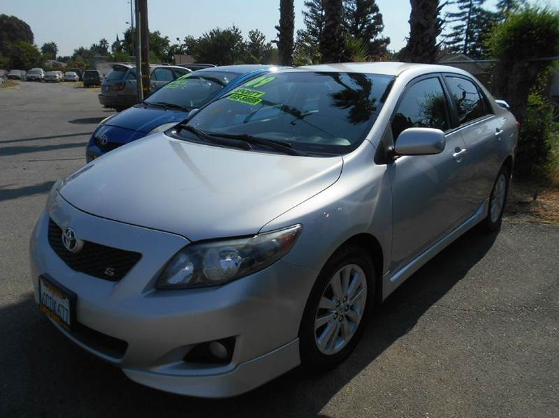 2009 TOYOTA COROLLA S 4DR SEDAN 4A silver 2-stage unlocking doors abs - 4-wheel active head res