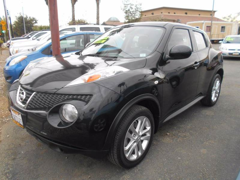 2014 NISSAN JUKE S 4DR CROSSOVER black 2-stage unlocking doors abs - 4-wheel active head restra