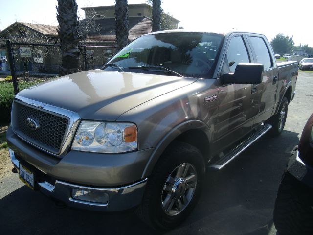 2005 FORD F-150 LARIAT 4DR SUPERCREW 4WD STYLESI gold abs - 4-wheel adjustable pedals - power ax