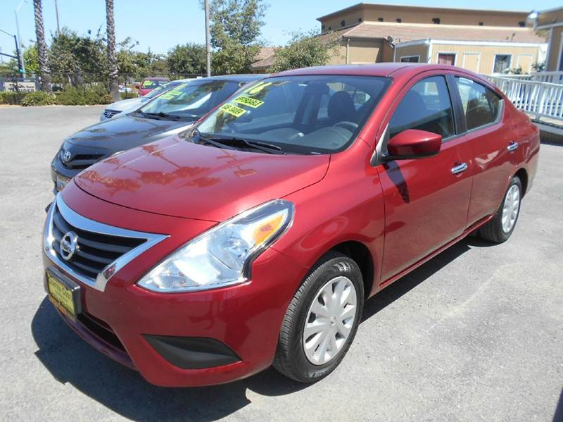 2016 NISSAN VERSA 16 S 4DR SEDAN 4A red abs - 4-wheel airbag deactivation - occupant sensing pa