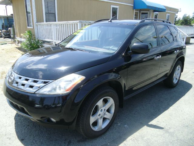 2005 NISSAN MURANO SL AWD 4DR SUV black abs - 4-wheel anti-theft system - alarm center console